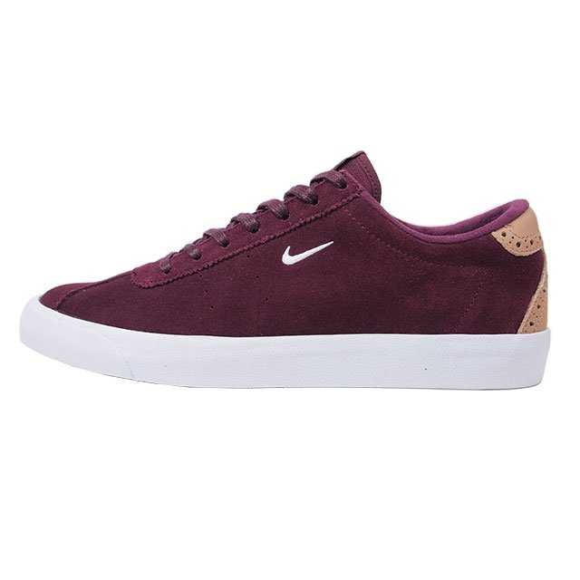 NIKE MATCH CLASSIC SUEDE NIGHT MAROON/WHITE