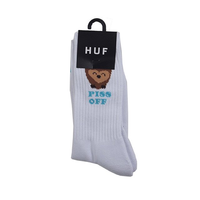 "HUF "" OWL CUTE SOCK "" WHITE"