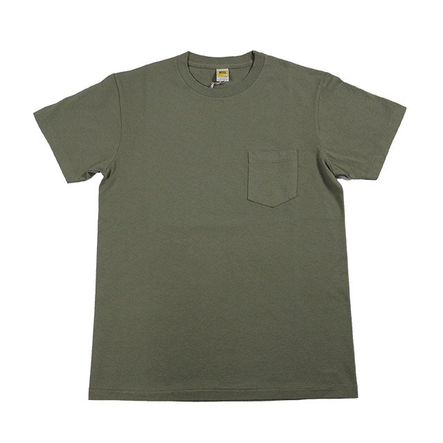 M.V.P. x VELVA SHEEN POCKET TEE OD