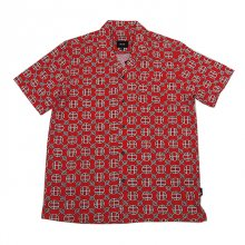 <img class='new_mark_img1' src='//img.shop-pro.jp/img/new/icons1.gif' style='border:none;display:inline;margin:0px;padding:0px;width:auto;' />HUF ATELIER RESORT WOVEN S/S SHIRT RED