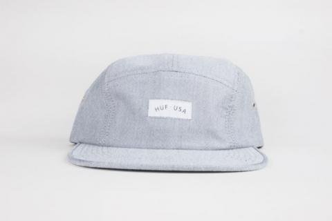 "HUF "" USA CHAMBRAY VOLLEY "" BLACK/ハフ "" USA CHAMBRAY VOLLEY """