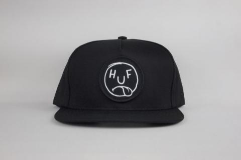 """HUF """" BLAHHH SNAPBACK CAP """" BLACK/ハフ """" BLAHHH SNAPBACK CAP """""""