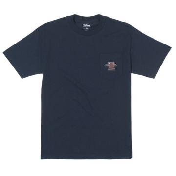 """DQM """" FOUR FIVE TEE """" NAVY"""