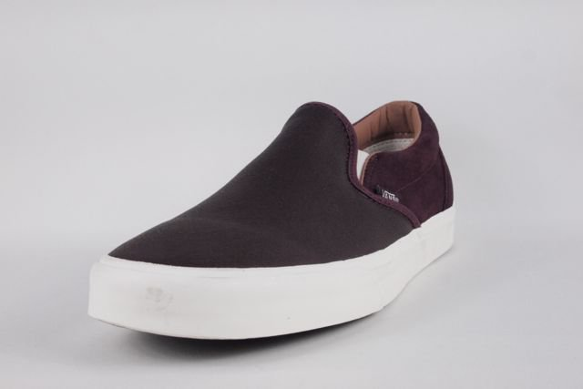 f221e59713cb83 VANS CLASSIC SLIP-ON CA(TORINO LEATHER)WINETASTING バンズ スリップオン CA