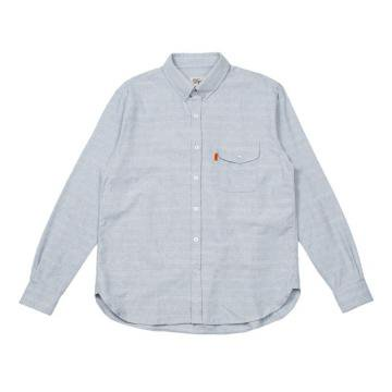 "DQM "" DQM LEGACY L/S HORIZONTAL STRIPE DENIM SHIRT "" L.DENIM"
