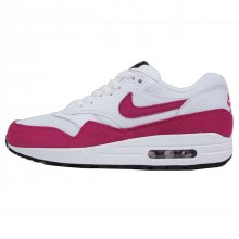 NIKE WMNS AIR MAX 1 ESSENTIAL WHITE/SPORT FUCHSIA-BLACK