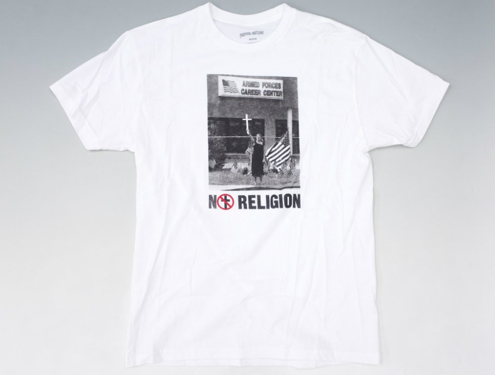 Fucking Awesome  RELIGION プリント Tシャツ white