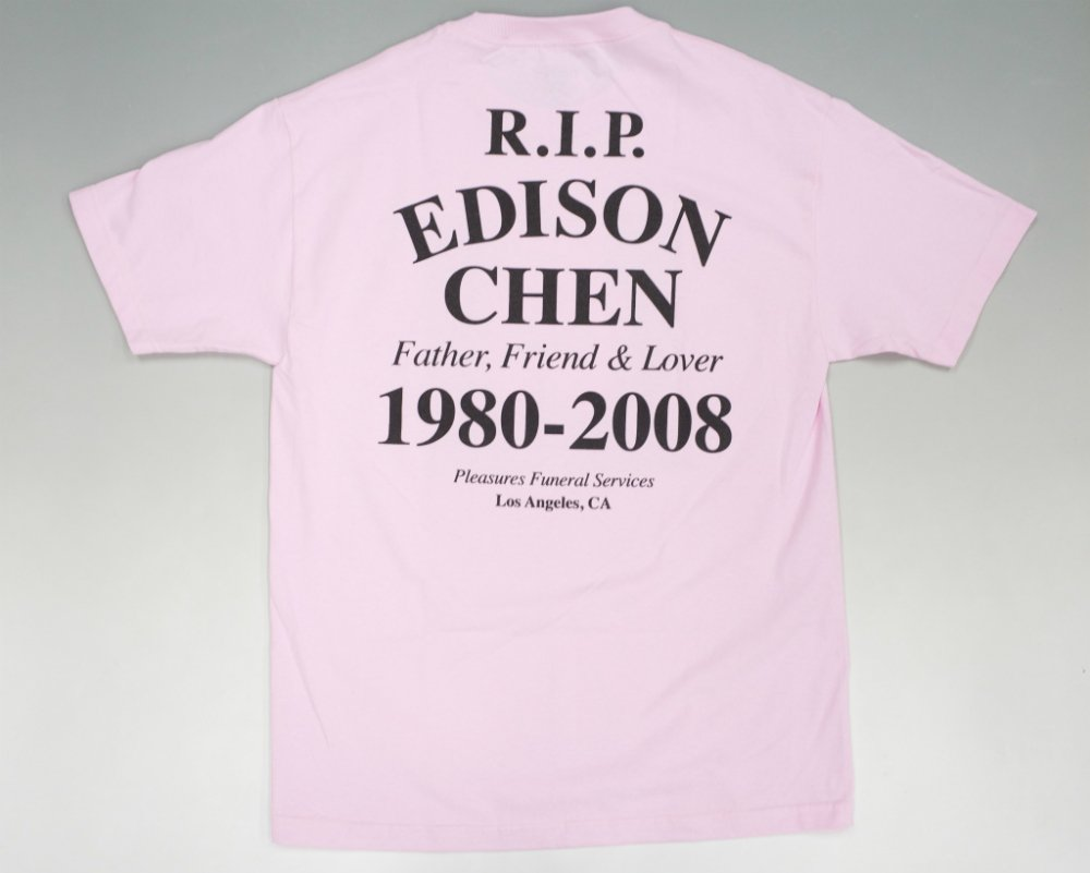 <img class='new_mark_img1' src='//img.shop-pro.jp/img/new/icons20.gif' style='border:none;display:inline;margin:0px;padding:0px;width:auto;' />PLEASURES  RIP EDC Tシャツ pink