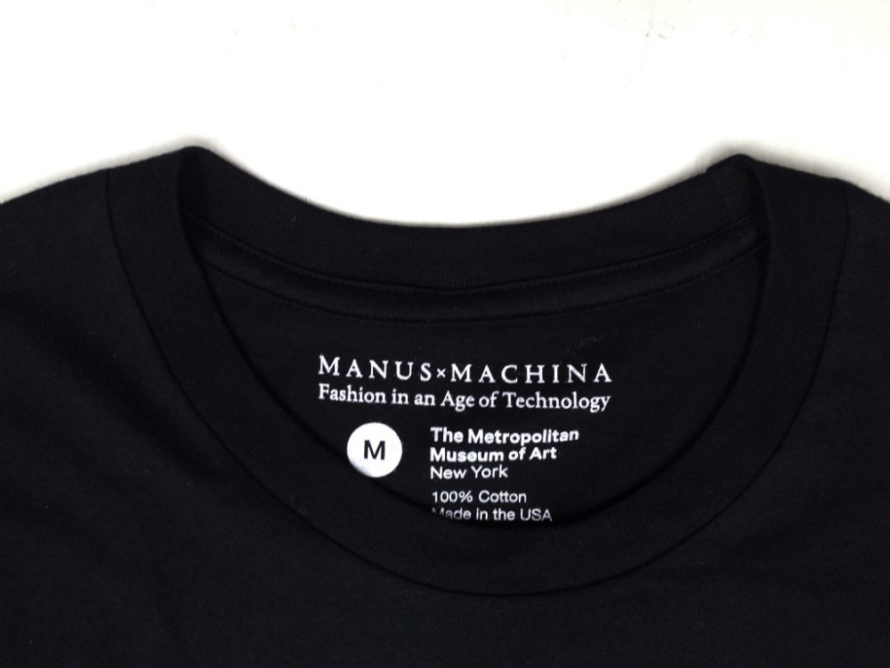 The Metropolitan Museum of Art  Manus x Machina Tシャツ