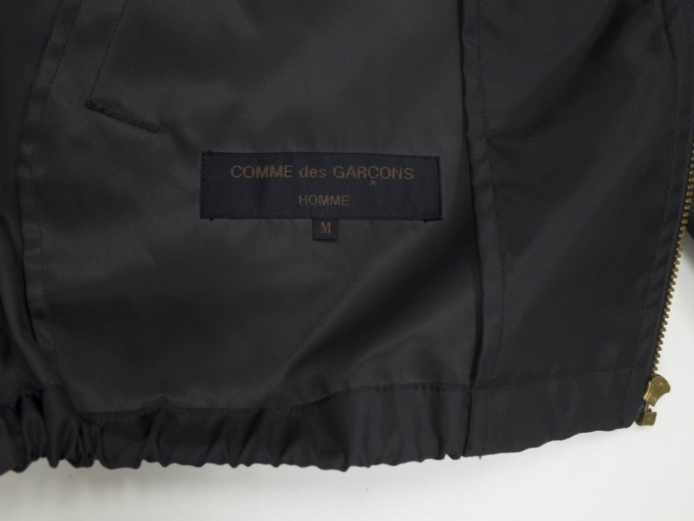 COMME des GARCONS HOMME LOGO COACH JACKET MADE IN JAPAN USED