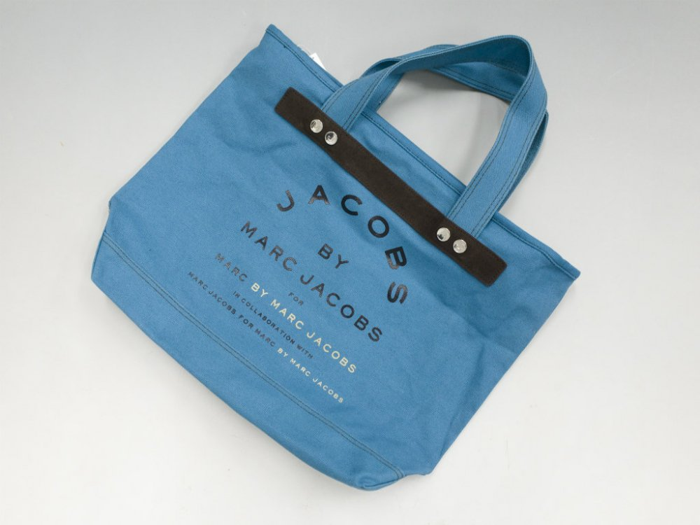 JACOBS  BY MARC JACOBS マークジェイコブス  キャンバストートバッグ USED