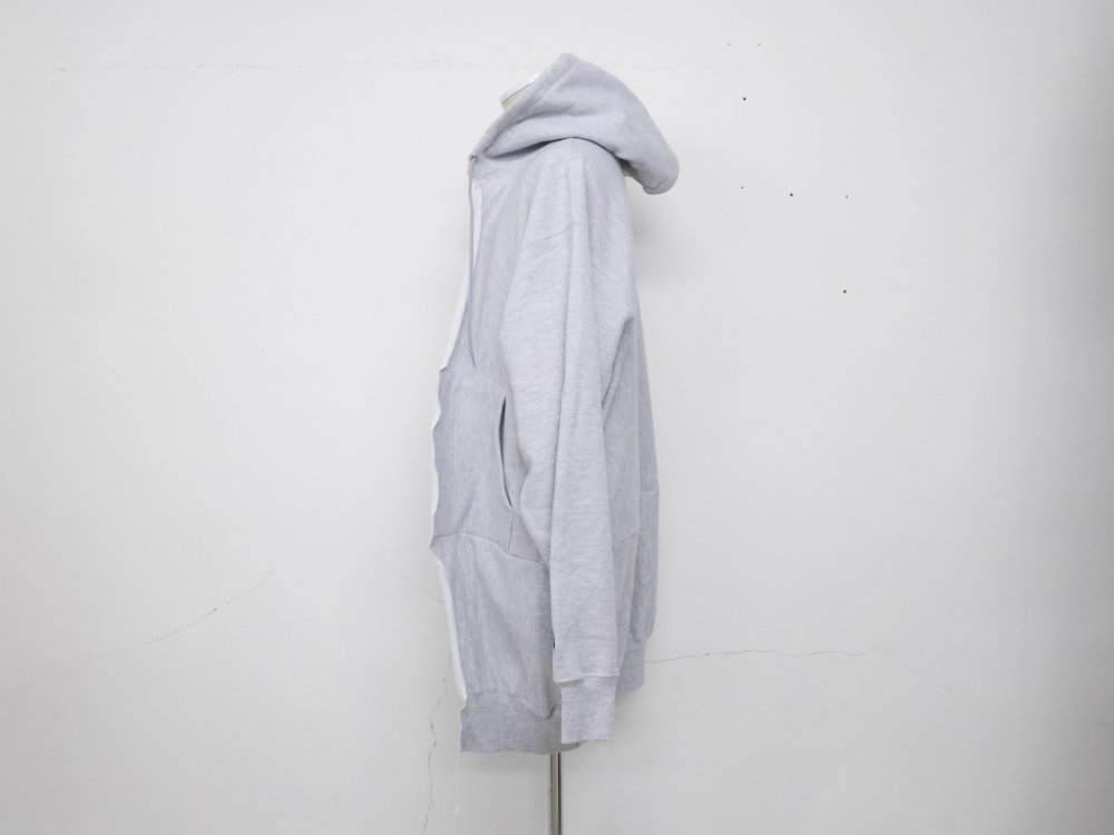 SOTA JAPAN × SEW UP CHAMPION REMAKE REVERSE WEAVE HOODIE  CARDIGAN s.grey