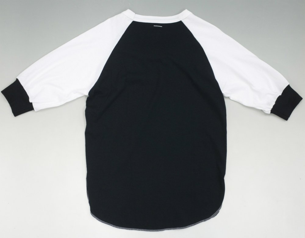 SOTA JAPAN × SEW UP CHAMPION REMAKE BASEBALL TEE black