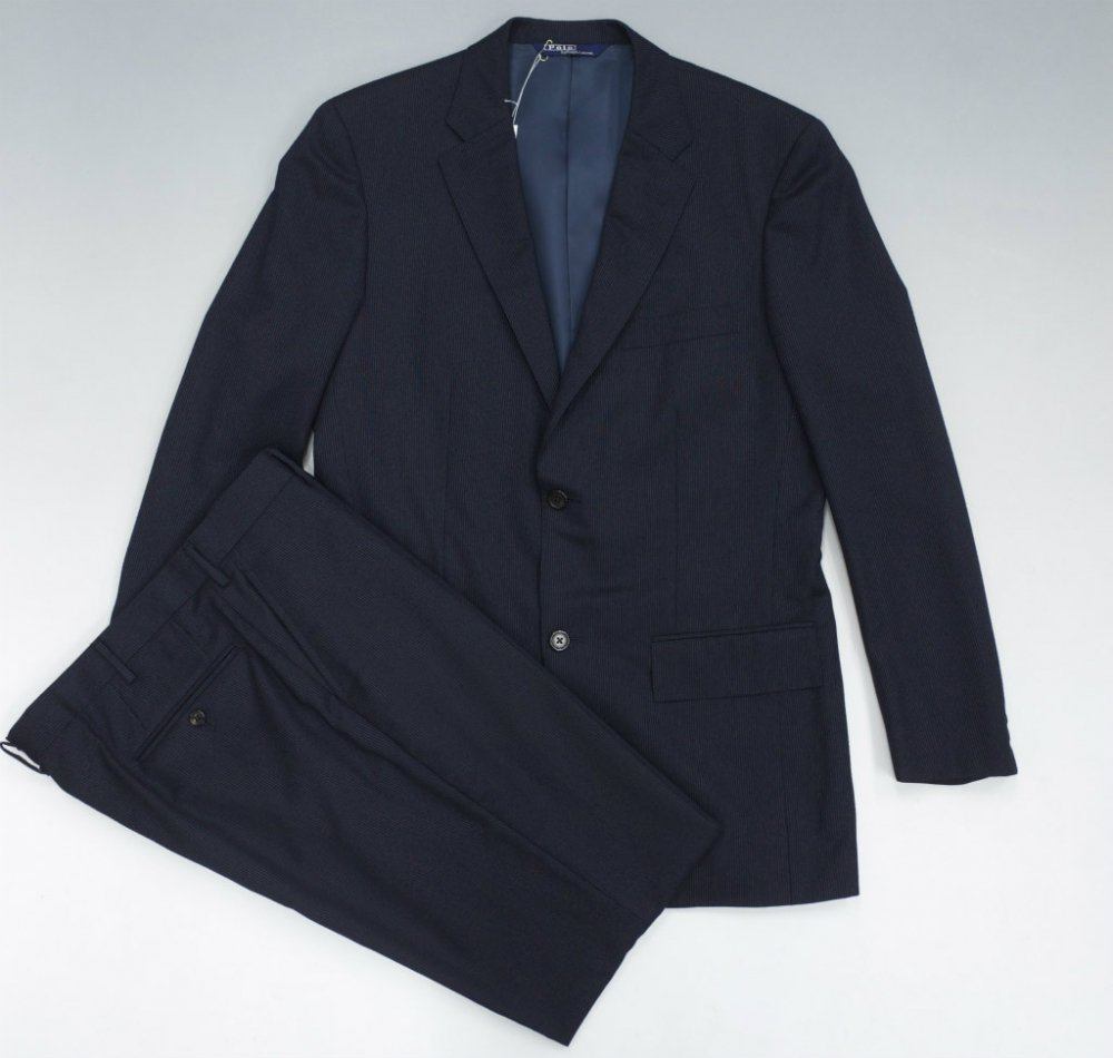 ポロ ラルフローレン スーツ セットアップ  MADE IN JAPAN USED