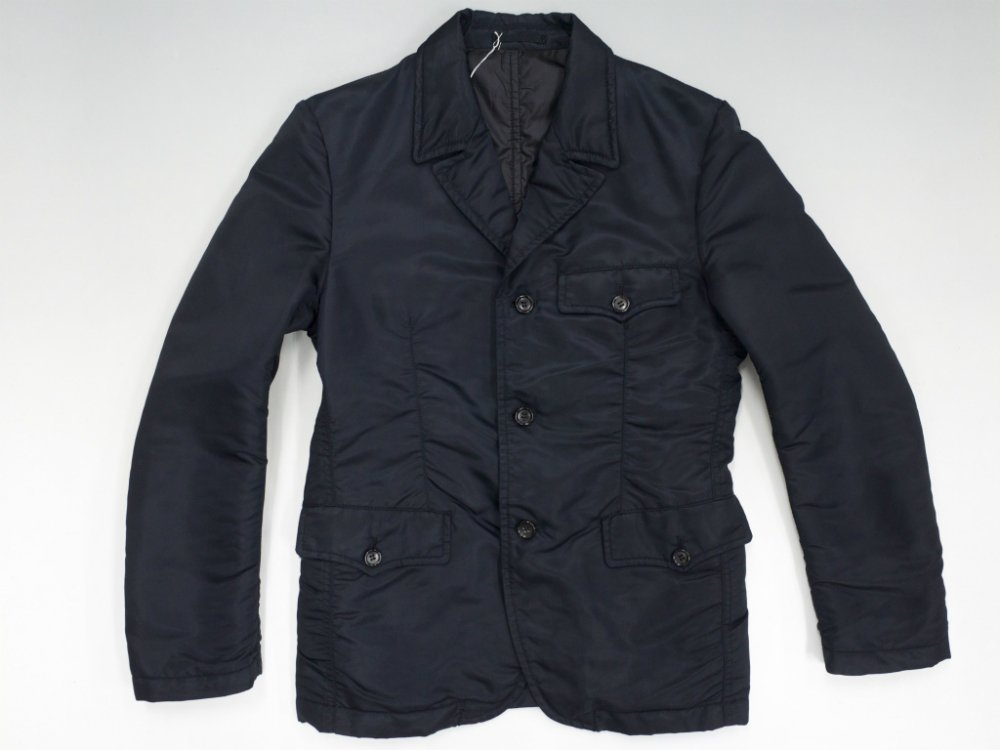 COMME des GARCONS HOMME 中綿入り ナイロン テーラードジャケット  MADE IN JAPAN USED