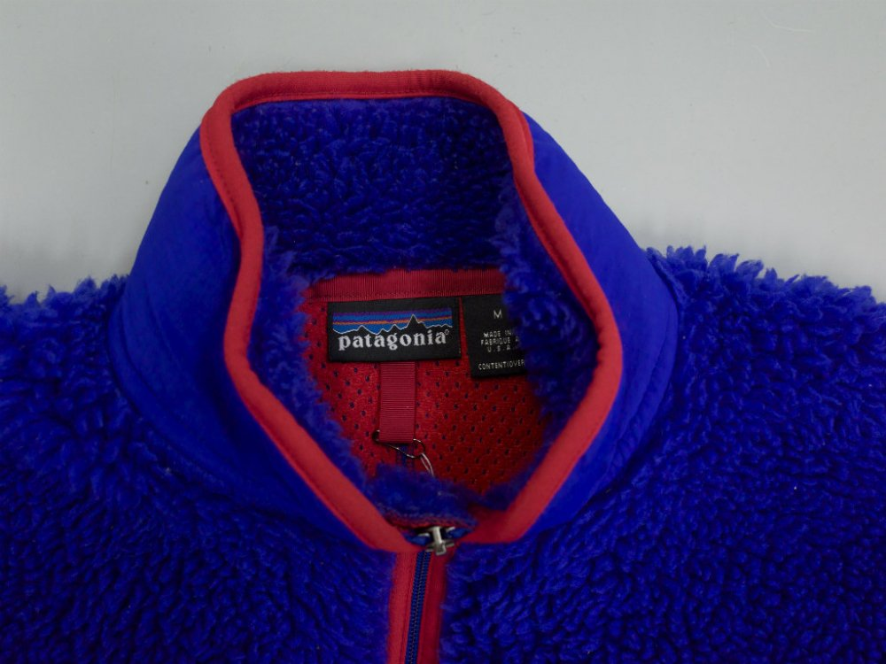 00's patagonia パタゴニア  RETRO CARDIGAN FLEECE JACKET  blue  MADE IN USA USED