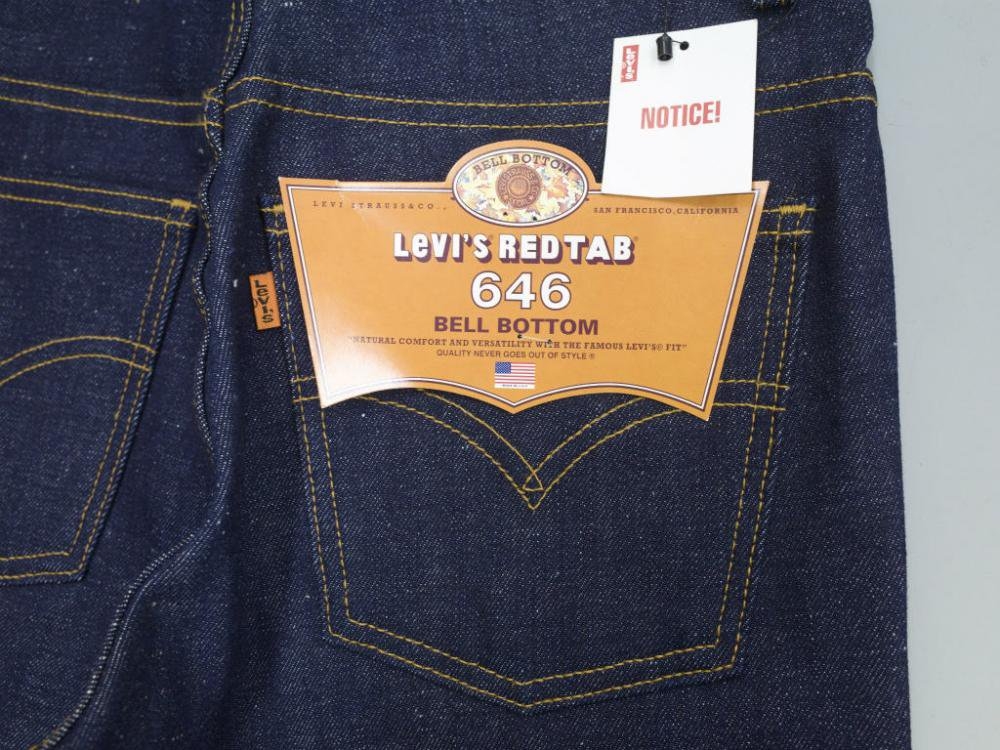 LEVI'S  リーバイス US646-0300  MADE IN USA DEAD STOCK