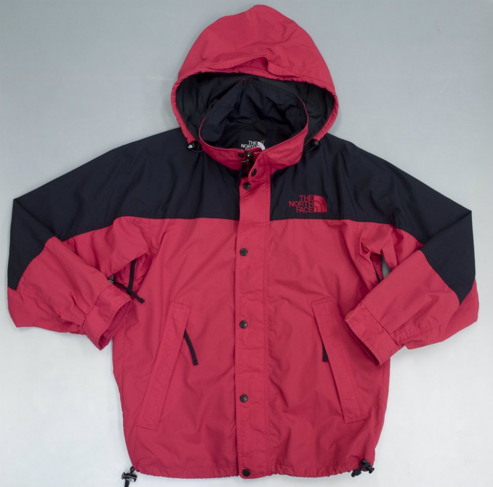THE NORTH FACE ノースフェイス  切替し マウンテンパーカ red USED