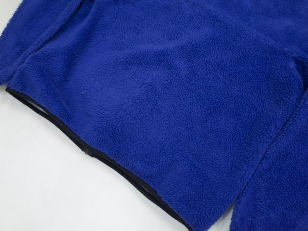 98's patagonia パタゴニア  CLASSIC RETRO-X  FLEECE JACKET  blue  MADE IN USA USED
