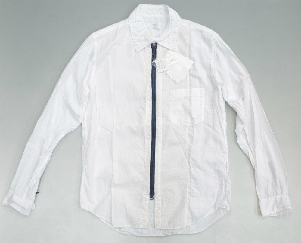 Y's YOHJI YAMAMOTO 切り返し ジップシャツ MADE IN JAPAN NEW