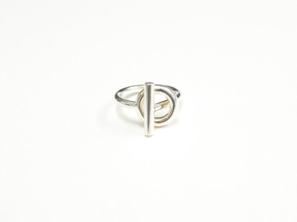 HERMES エルメス ツイスト リング 指輪   silver925 USED