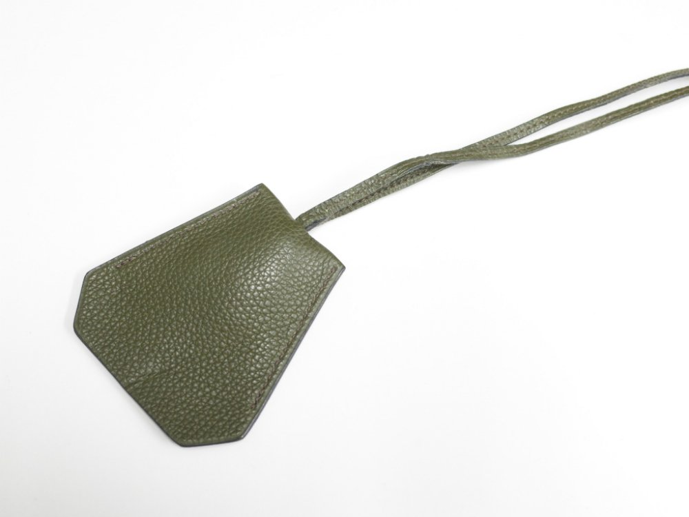 HERMES エルメス レザー キーケース クロシェット m.green MADE IN FRANCE USED
