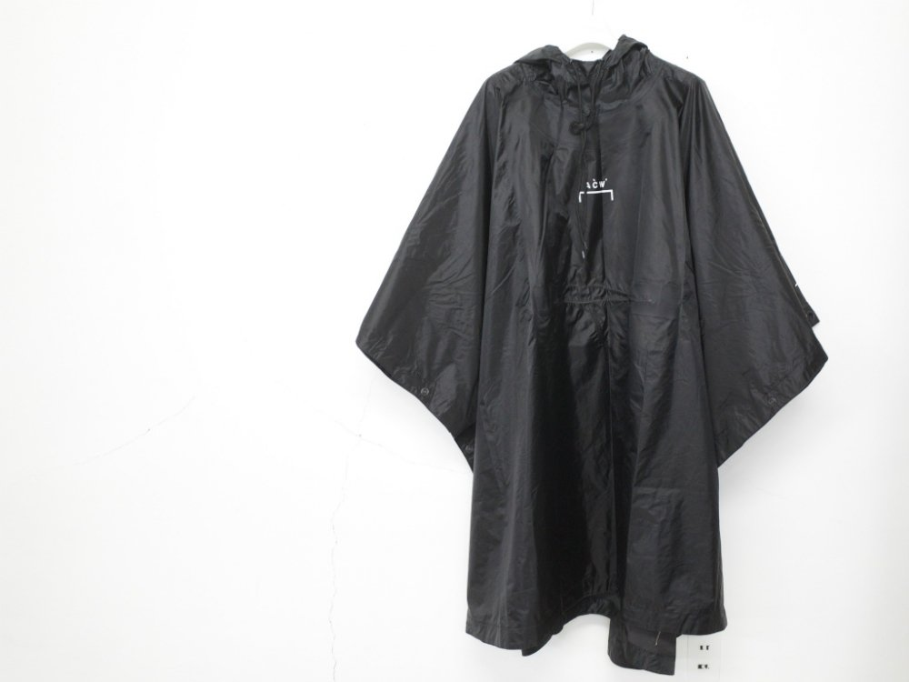 A-COLD-WALL* ACW*  OVERSIZE WATER RESISTANT ポンチョ MADE IN ENGLAND