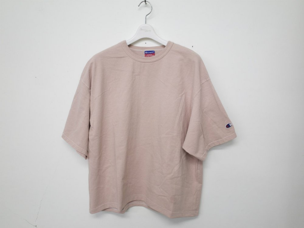 SOTA JAPAN × SEW UP CHAMPION REMAKE OVERDYE TEE rose XL