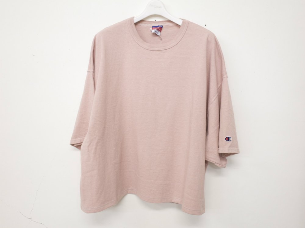 SOTA JAPAN × SEW UP CHAMPION REMAKE OVERDYE TEE rose XXXL