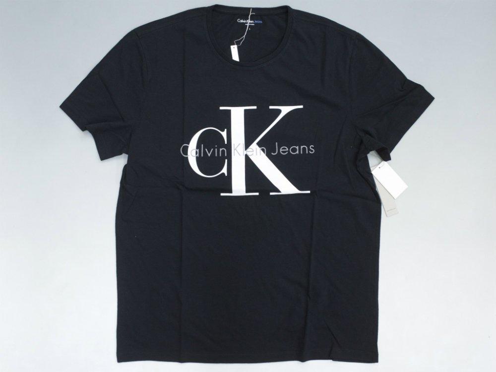 海外限定 Calvin Klein Jeans カルバンクライン ロゴ Tシャツ black