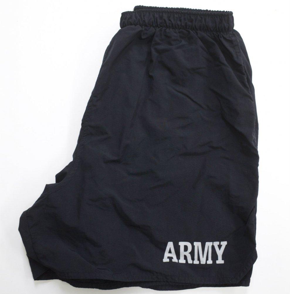 U.S.ARMY トレーニングショーツ black USED Msize #1