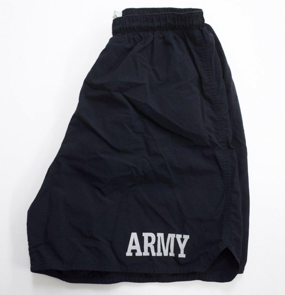U.S.ARMY トレーニングショーツ black USED Msize #2