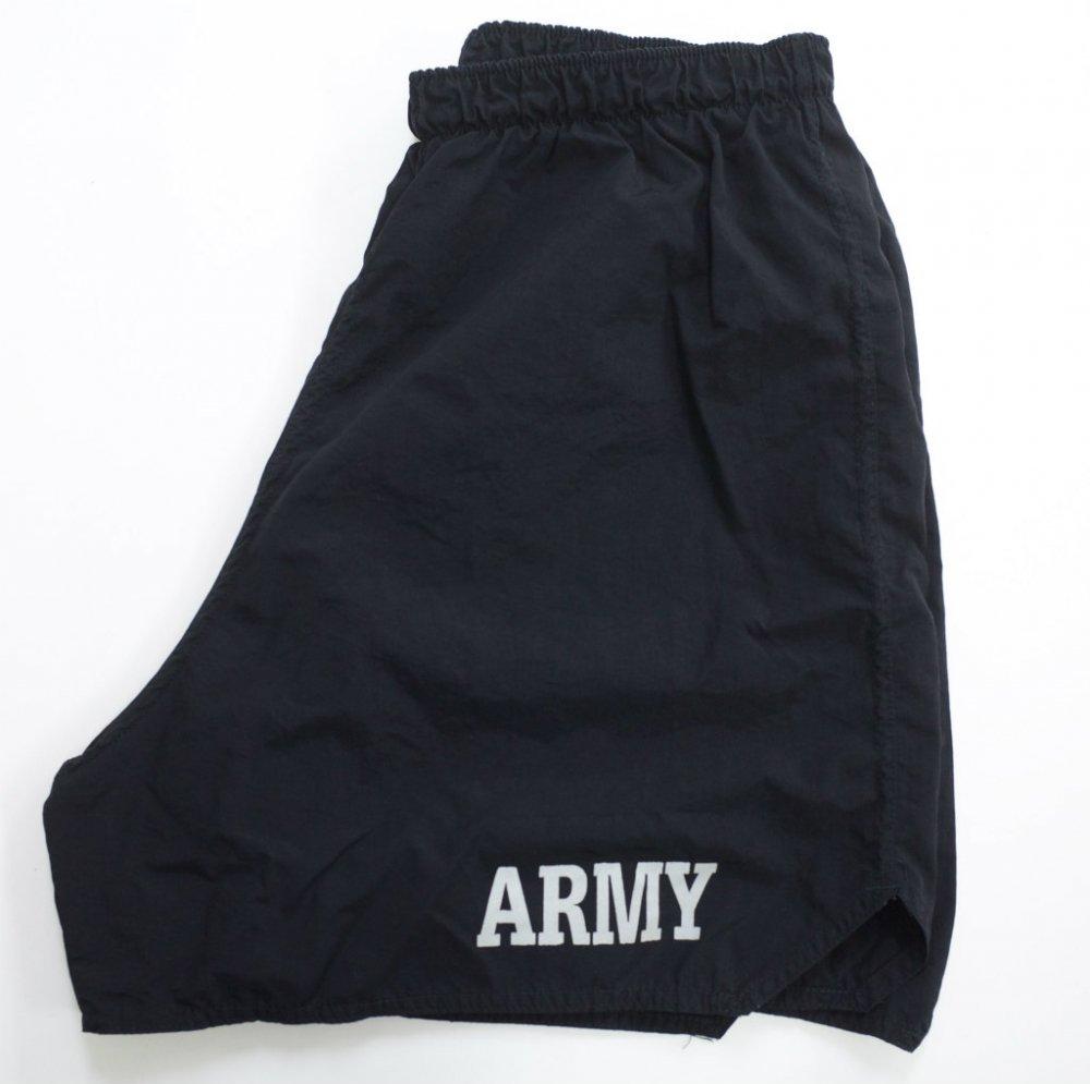 U.S.ARMY トレーニングショーツ black USED Lsize #3