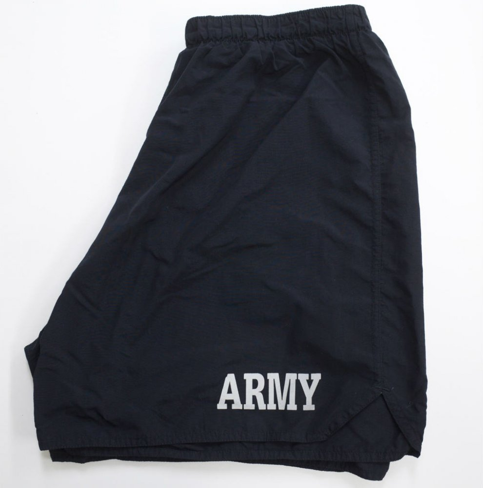 U.S.ARMY トレーニングショーツ black USED XLsize #4