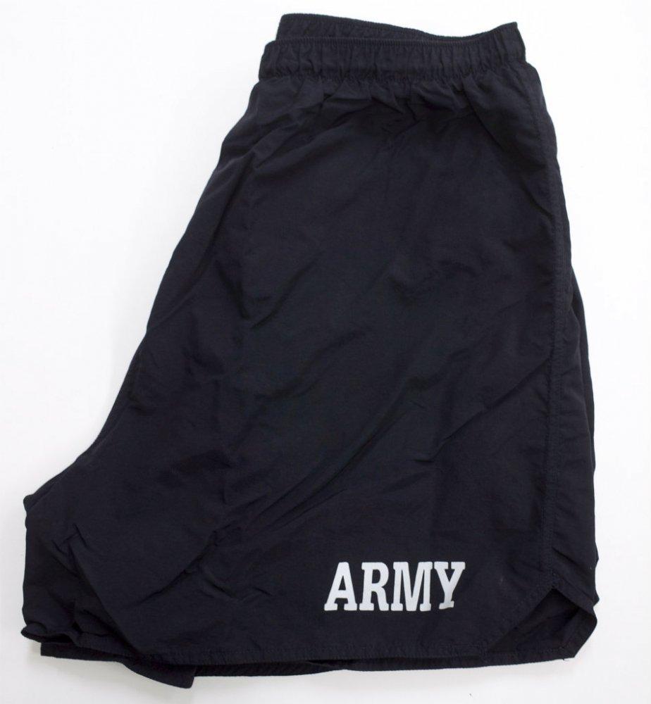 U.S.ARMY トレーニングショーツ black USED XLsize #5