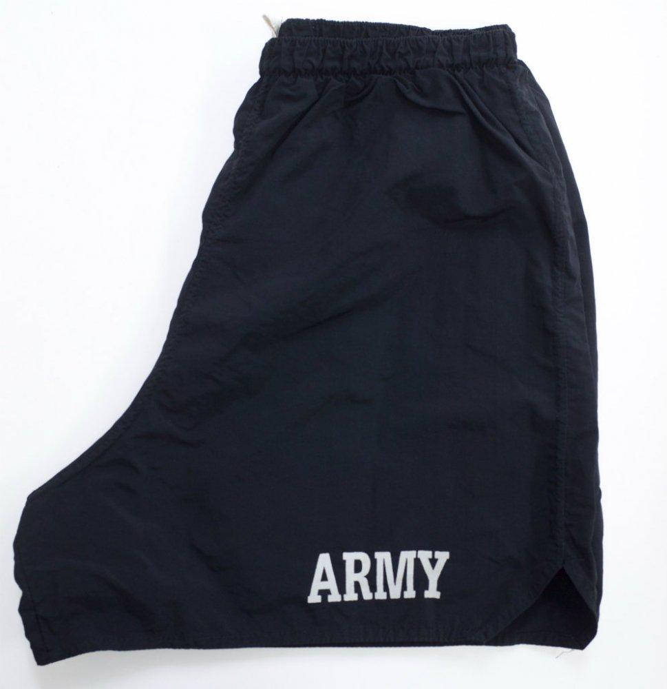 U.S.ARMY トレーニングショーツ black USED XLsize #6