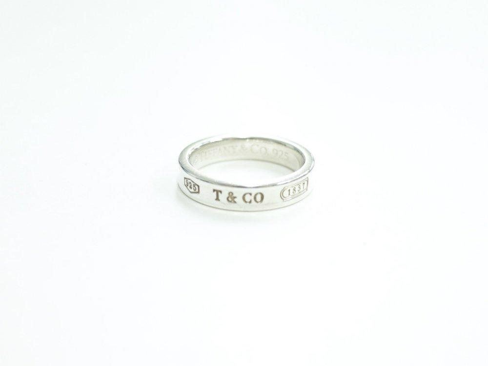 Tiffany & Co  ティファニー  1837 リング 指輪 silver925  9号 USED