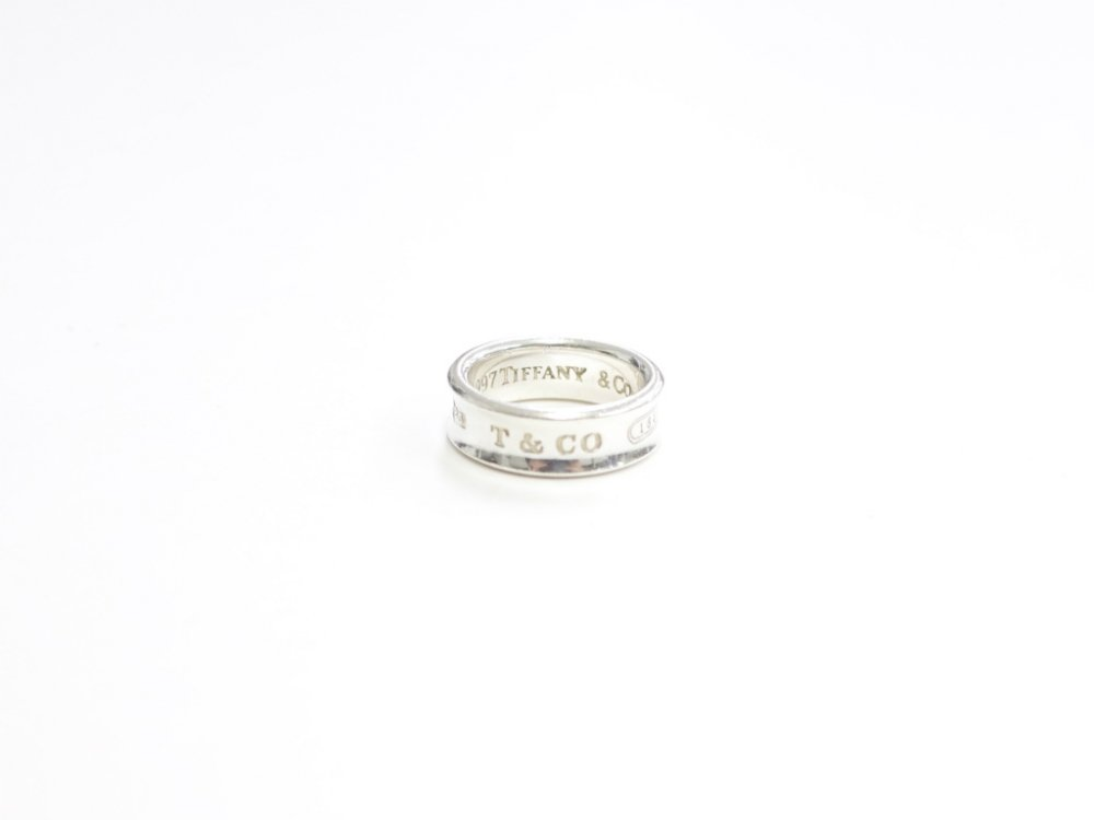 Tiffany & Co  ティファニー  1837 リング 指輪 silver925  13号 USED