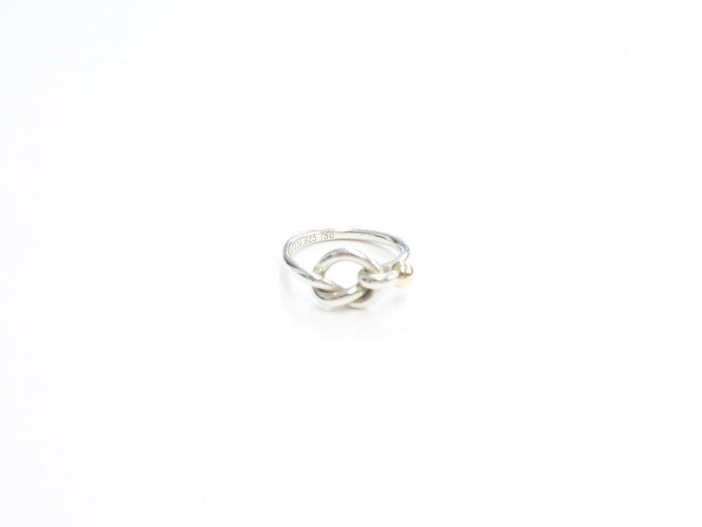 Tiffany & Co  ティファニー  リング 指輪 silver925  18K 750 #12 USED
