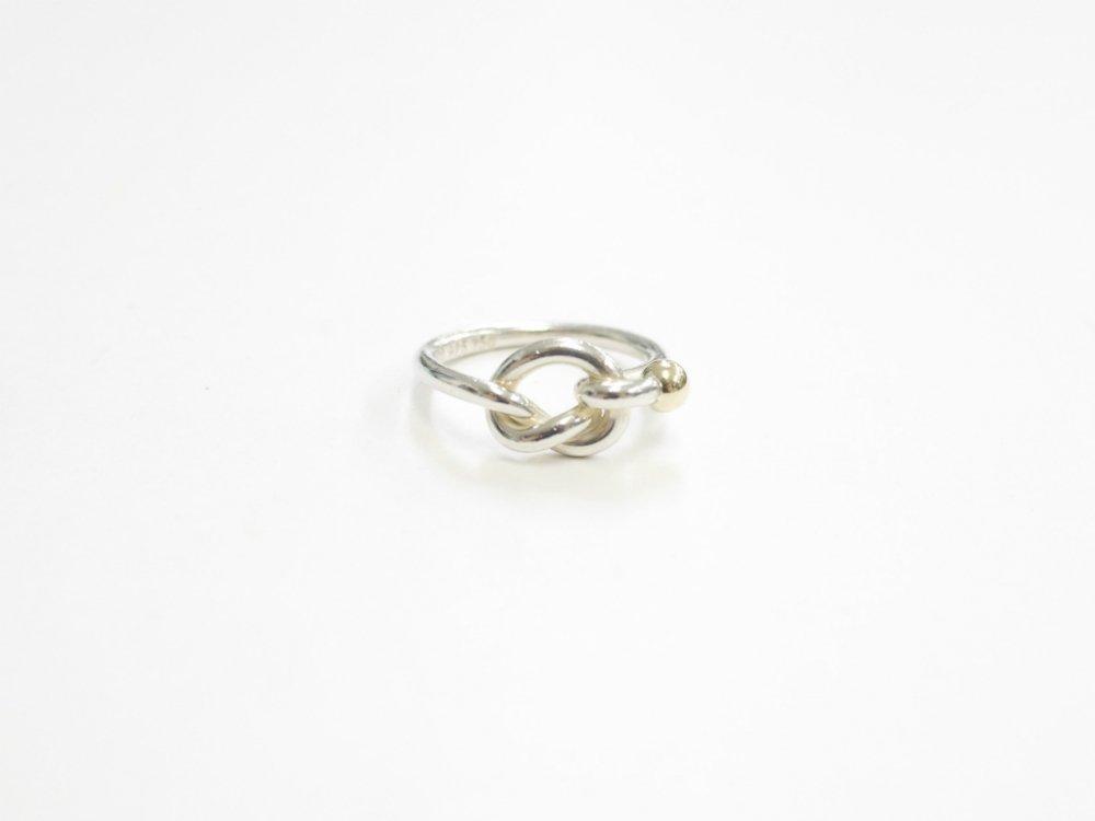 Tiffany & Co  ティファニー  リング 指輪 silver925  18K 750 #10 USED