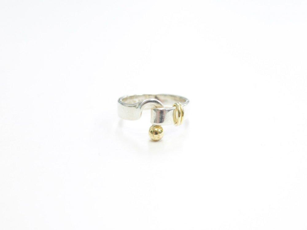 Tiffany & Co  ティファニー  ラブノット リング 指輪 925  18K 750 12号 USED