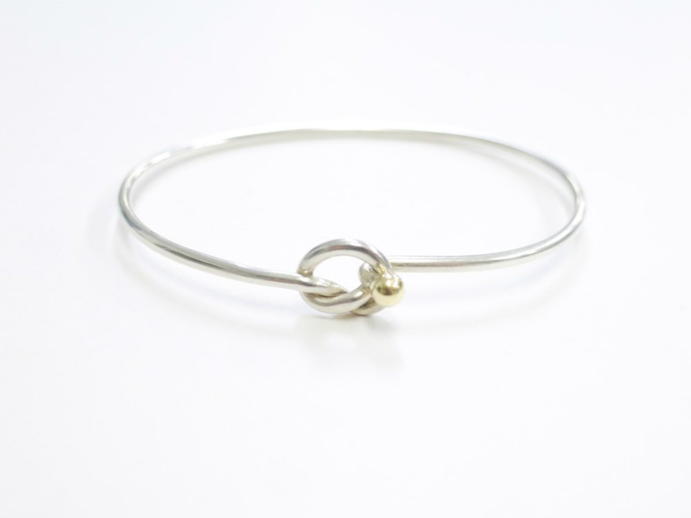 Tiffany & Co  ティファニー バングル silver925 18K 750 USED