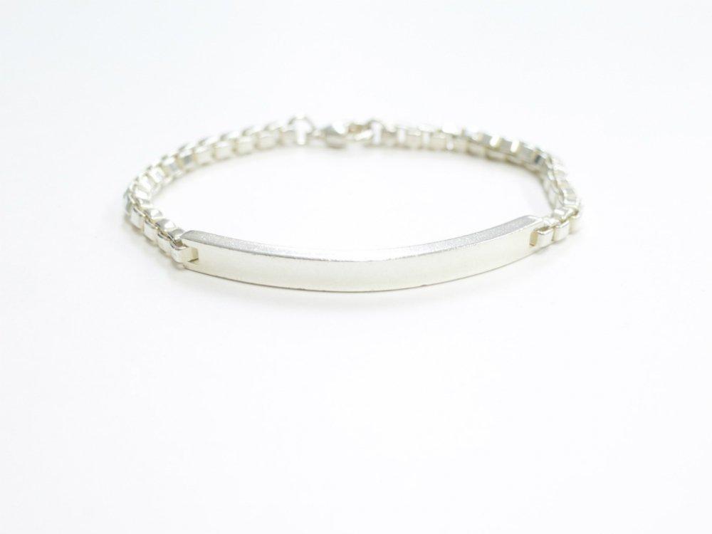 Tiffany & Co  ティファニー ベネチアン ID ブレスレット silver925  USED