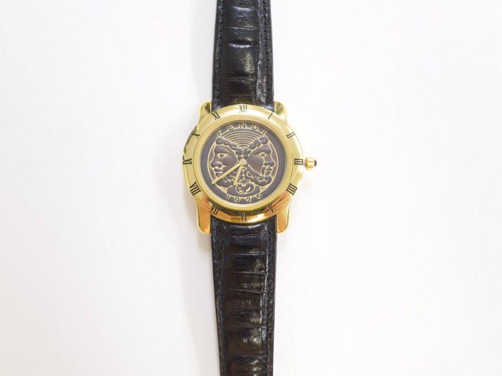 FENDI オールド フェンディ ウォッチ 時計 MADE IN SWISS USED
