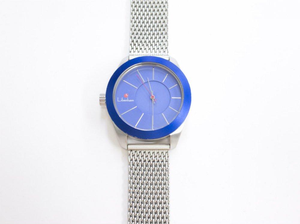 LIBENHAM リベンハム WATCH ラントシャフトシリーズ ハーモニー SkyBlue 腕時計 USED