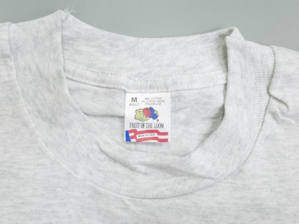 VINTAGE 80-90's FRUIT OF THE LOOM   クルーネックTシャツ MADE IN USA DEADSTOCK #2
