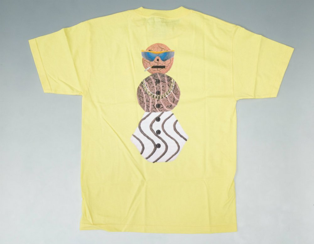 <img class='new_mark_img1' src='https://img.shop-pro.jp/img/new/icons20.gif' style='border:none;display:inline;margin:0px;padding:0px;width:auto;' />Dime x Quartersnacks Tシャツ yellow