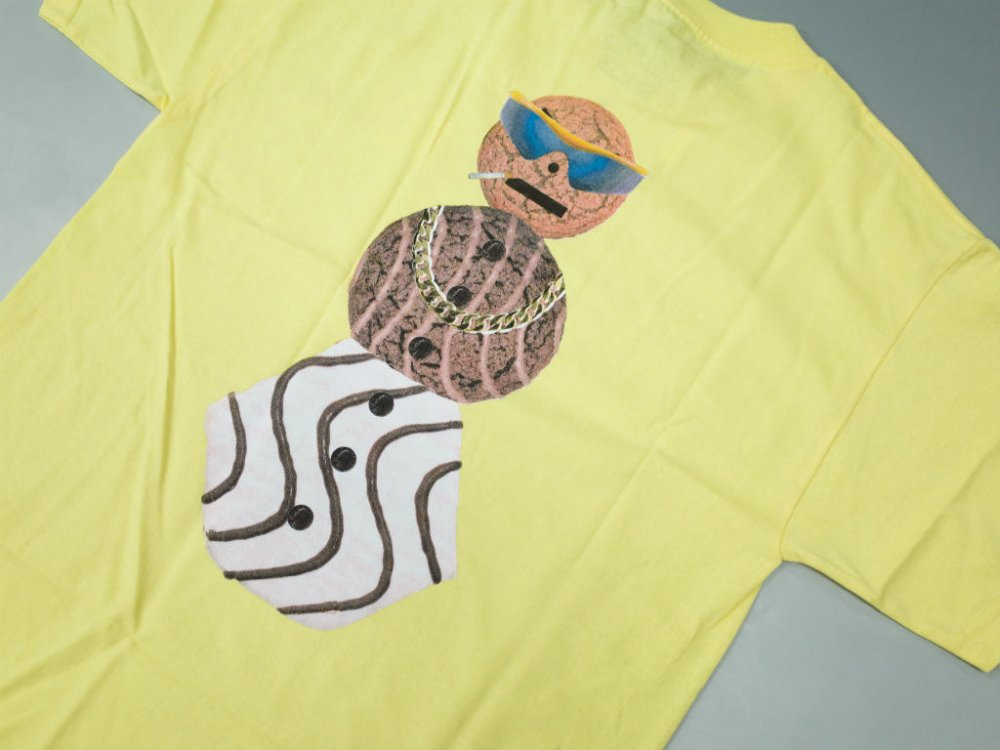 <img class='new_mark_img1' src='//img.shop-pro.jp/img/new/icons20.gif' style='border:none;display:inline;margin:0px;padding:0px;width:auto;' />Dime x Quartersnacks Tシャツ yellow