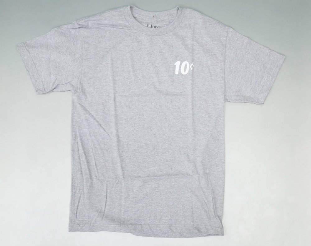 <img class='new_mark_img1' src='//img.shop-pro.jp/img/new/icons20.gif' style='border:none;display:inline;margin:0px;padding:0px;width:auto;' />Dime x Quartersnacks Tシャツ h.grey