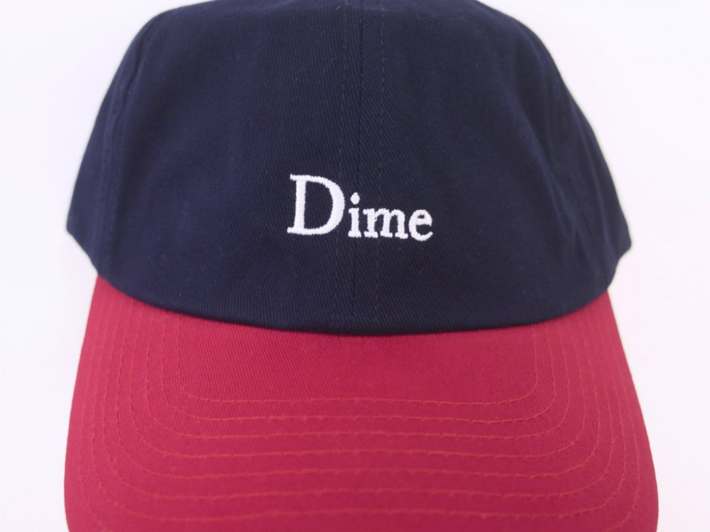 Dime   Classic Two-Tone キャップ  navy